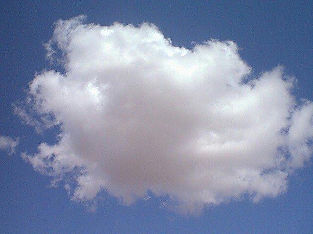 19990718-022 – A Nice White Cloud