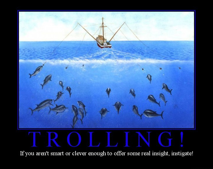 trolling demotivational